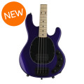 Ernie Ball Music Man StingRay 4 H 3-EQ - Firemist Purple with Matching Headstock, Maple Fingerboard