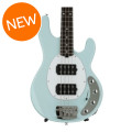 Ernie Ball Music Man Stingray 4 HH - Powder Blue, Rosewood Fingerboard