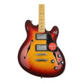 Fender Modern Player Starcaster - Aged Cherry SunburstModern Player Starcaster - Aged Cherry Sunburst