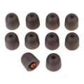 Westone Star Silicone Eartips - Orange Size, 5 pair