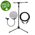 Sweetwater Gator, Mogami and sE Electronics Bundle - Stand, Cable & Pop Filter