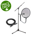 Sweetwater Ultimate Support, Mogami and Stedman Bundle - Stand, Cable & Pop Filter