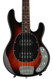Ernie Ball Music Man StingRay4 HH Neck-Through - Vintage Sunburst