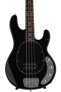 Ernie Ball Music Man StingRay 4 H Neck Through - Black