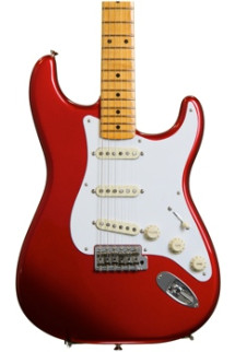 Fender Classic Series '50s Stratocaster, Lacquer - Candy Apple Red with Maple Fingerboard