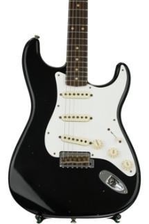 Fender Custom Shop 1959 Journeyman Relic Stratocaster - Black with Rosewood Fingerboard