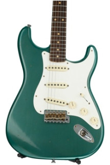 Fender Custom Shop 1959 Journeyman Relic Stratocaster - Faded Sherwood Green Metallic with Rosewood Fingerboard