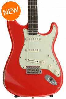 Fender Custom Shop 1960 Relic Stratocaster - Aged Fiesta Red with Rosewood Fingerboard