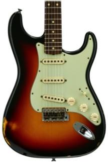 Fender Custom Shop 1961 Relic Stratocaster - 3-color Sunburst with Rosewood Fingerboard