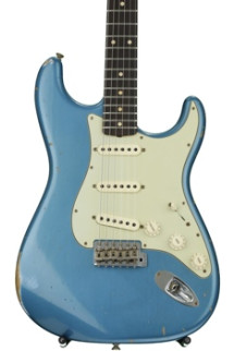Fender Custom Shop 1961 Relic Stratocaster - Aged Lake Placid Blue with Rosewood Fingerboard
