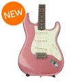 Fender Custom Shop '63 Journeyman Relic Stratocaster - Faded/Aged Burgundy Mist Metallic