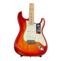 Fender American Elite Stratocaster - Aged Cherry Burst with Maple Fingerboard