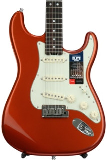 Fender American Elite Stratocaster - Autumn Blaze Metallic with Rosewood Fingerboard