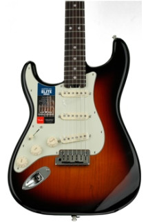 Fender American Elite Stratocaster Left-handed - 3-color Sunburst with Rosewood Fingerboard