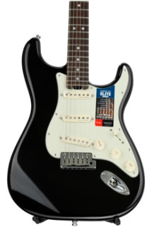 Fender American Elite Stratocaster - Mystic Black with Rosewood Fingerboard