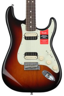 Fender American Professional HH Shawbucker Stratocaster - 3-color Sunburst with Rosewood Fingerboard