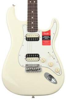 Fender American Professional HH Shawbucker Stratocaster - Olympic White with Rosewood Fingerboard