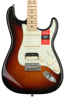 Fender American Professional HSS Shawbucker Stratocaster - 3-color Sunburst with Maple Fingerboard
