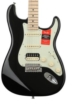 Fender American Professional HSS Shawbucker Stratocaster - Black with Maple Fingerboard