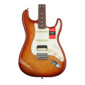 Fender American Professional HSS Shawbucker Stratocaster - Sienna Sunburst with Rosewood Fingerboard