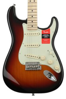 Fender American Professional Stratocaster - 3-color Sunburst with Maple Fingerboard