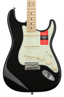 Fender American Professional Stratocaster - Black with Maple Fingerboard