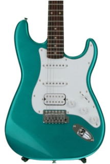 Squier Affinity Stratocaster HSS - Race Green with Rosewood Fingerboard