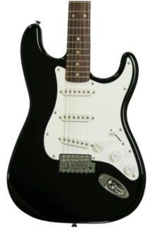 Squier Affinity Stratocaster - Black with Rosewood Fingerboard