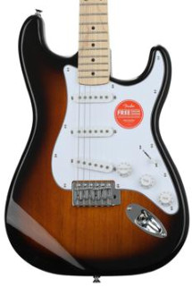 Squier Affinity Stratocaster - 2 Tone Sunburst with Maple Fingerboard