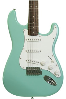 Squier Affinity Stratocaster - Surf Green with Rosewood Fingerboard