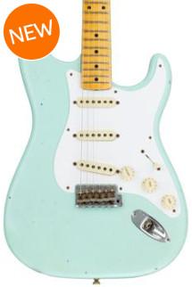 Fender Custom Shop Ancho Poblano Stratocaster Journeyman Relic - Surf Green