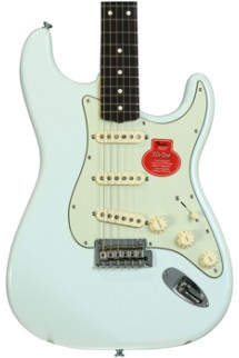 "Fender Classic Player _""ƒ60s Stratocaster - Sonic Blue with Rosewood Fingerboard"