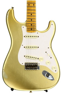 Fender Custom Shop 1957 Time Machine Relic Stratocaster - HLE Gold with Maple Fingerboard