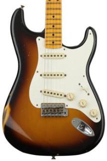 Fender Custom Shop 1957 Time Machine Relic Stratocaster - 2-color Sunburst with Maple Fingerboard