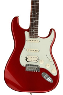 Fender Deluxe Stratocaster HSS - Candy Apple Red with Rosewood Fingerboard