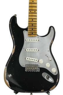 Fender Custom Shop El Diablo Strat Heavy Relic - Aged Black