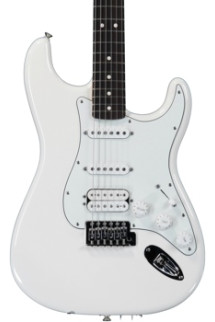 Fender Standard Stratocaster HSS - Arctic White with Rosewood Fingerboard