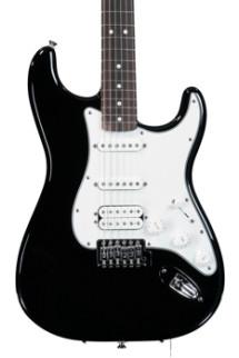Fender Standard Stratocaster HSS - Black with Rosewood Fingerboard