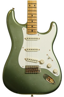 Fender Custom Shop Master Design 1950s Relic Stratocaster - Moss Green with Rosewood Fingerboard
