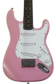 Squier Mini Strat - Pink