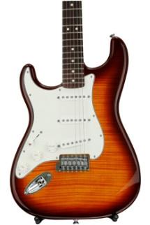 Fender Standard Stratocaster Plus Top Left-handed - Tobacco Sunburst with Rosewood Fingerboard