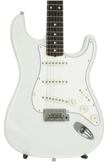 Fender Custom Shop Postmodern Stratocaster NOS - Olympic White with Rosewood Fingerboard