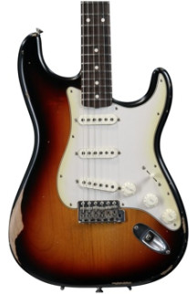 Fender Road Worn '60s Stratocaster - 3-color Sunburst with Rosewood Fingerboard
