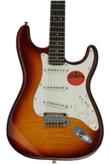 Squier Standard Stratocaster FMT - Amber
