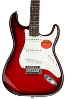 Squier Standard Stratocaster FMT - Crimson Transparent