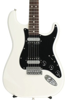 Fender Standard Stratocaster HH - Olympic White with Rosewood Fingerboard