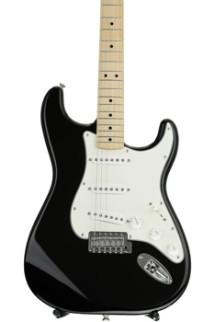 Fender Standard Stratocaster - Black with Maple Fingerboard