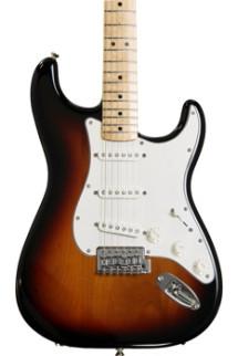 Fender Standard Stratocaster - Brown Sunburst with Maple Fingerboard