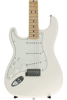 Fender Standard Stratocaster Left-handed - Arctic White with Maple Fingerboard