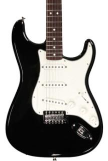 Fender Standard Stratocaster - Black with Rosewood Fingerboard